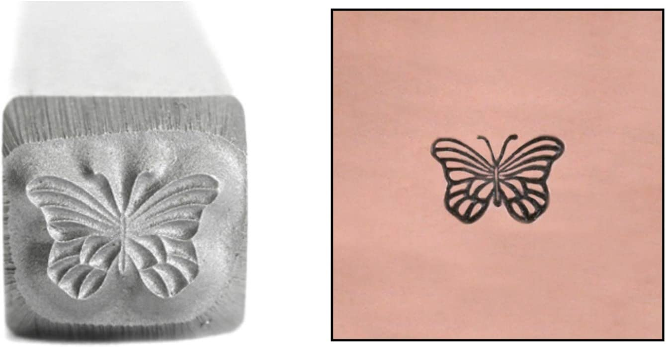 Credence Butterfly Metal Design Stamp 5mm Sale special price Monarch Stamping Punch fo Tool