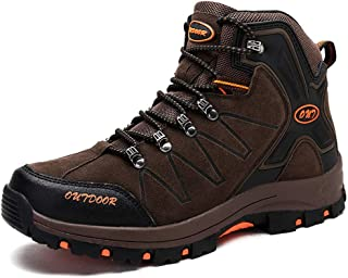 TUCSSON Botas de Senderismo Impermeables para Hombre / Mujeres,de ocio al Aire Libre Zapatos de Deporte Zapatillas de Senderismo