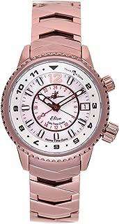 """Elise"" Aviation Watch   Swiss Quartz Watch Movement   Stainless Steel Analog Dial Wrist Watch for Women"