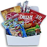 Good Luck! Message Care Package (12 Count) Snacks Gift For College Students, Military, Or Any Loved One!