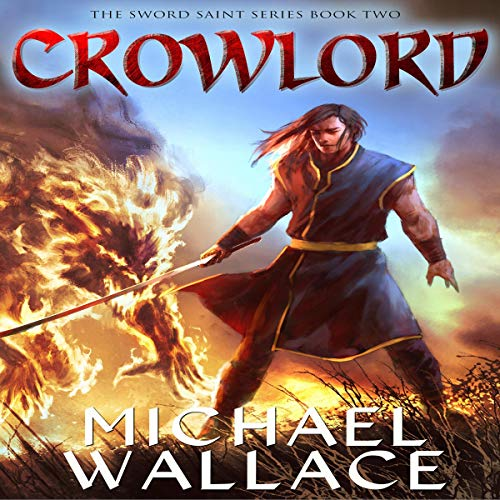 Crowlord audiobook cover art