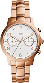 Fossil Women's ES4237 Caiden Multifunction Rose Gold-Tone Stainless Steel Watch