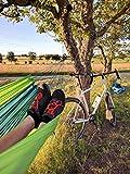 Hängematte Silk Traveller Fallschirmseide grün – Belastbar bis 150 Kg - 4