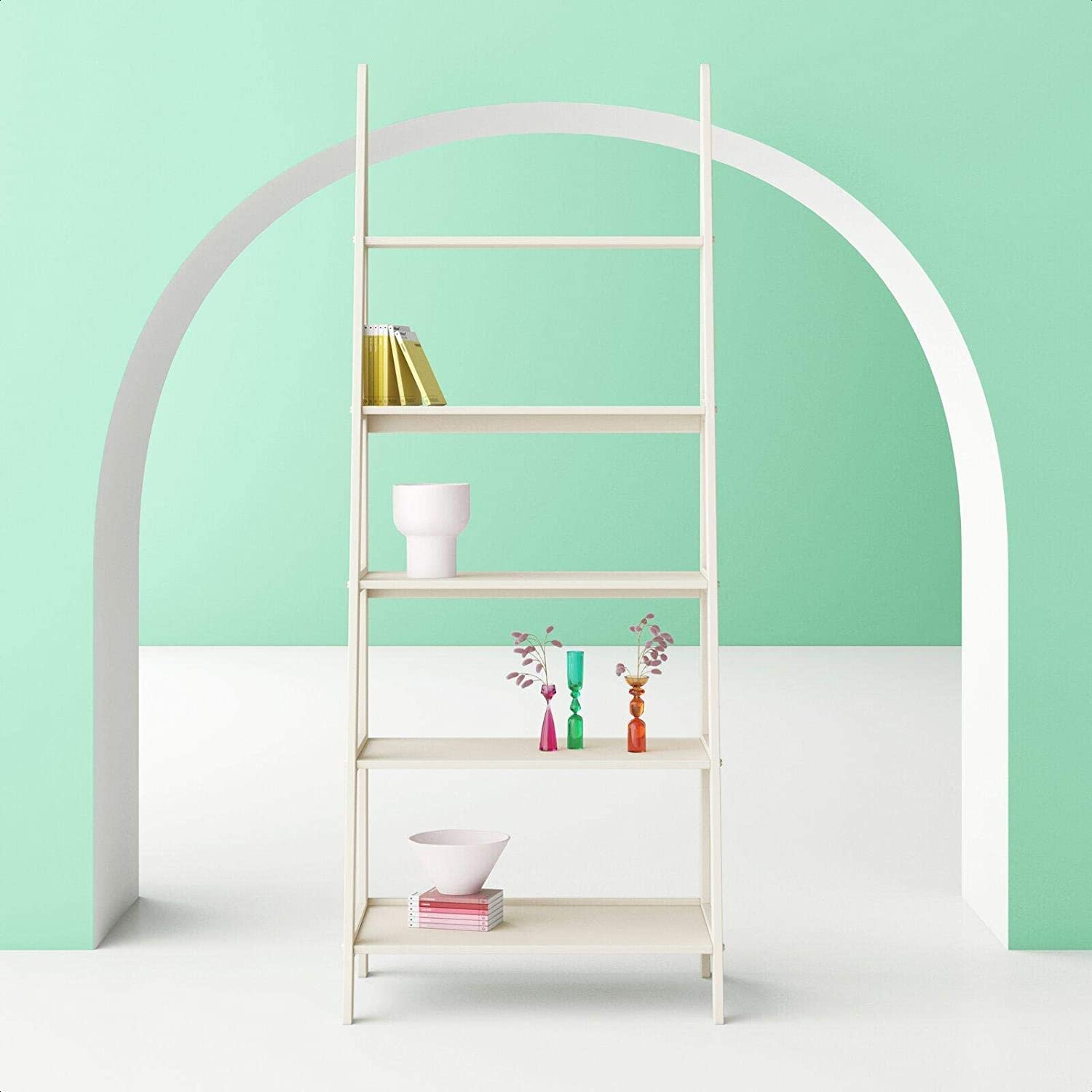 Aries Ladder Bookcase Popular Same day shipping product