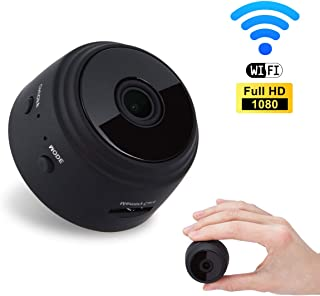 Mini Spy Camera BIZGOOD 1080P Hidden Camera | Portable Small HD Nanny Cam with Night Vision and Motion Detection | Perfect Indoor Covert Security Camera for Home and Office | Hidden Spy Cam