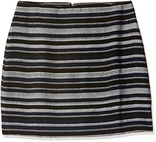 DJ&C by Fbb Women's Asymmetric Midi Skirt (830044696_Grey_XL)