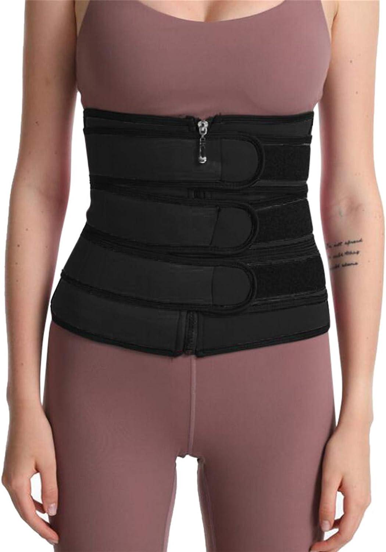 EseFGJK Waist Trainer Corset Trimmer Shaper Belt for Women,Sports Waistband Fitness Sculpting Belly Belt