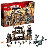LEGO NINJAGO Masters of Spinjitzu: Dragon Pit 70655 Ninjago Toy Building Kit with Green Dragon Model, Ninja Action Battle Playset for Kids (1660 Pieces)