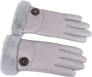 WUXiaodanDan Ladies Gloves Winter Warm Gloves Windproof Waterproof Gloves Touch Screen Gloves Outdoor Riding Gloves