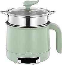 N\B 1,8L Mini poêle électrique avec Couvercle, Chaude électrique, Pot de Voyage, Boutique Multi-cuisinière Portable, Chauf...