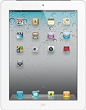 Apple iPad 2 MC984LL/A Tablet (64GB, Wifi + AT&T 3G, White) 2nd Generation (Renewed)