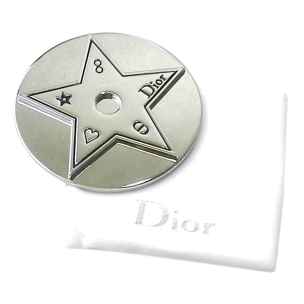 確執樫の木書店Dior ディオール ミラー 鏡 ロゴ 銀 シルバー 保護ケース 袋 星 スター ミニ 小さめ 携帯 化粧 メイク コスメ
