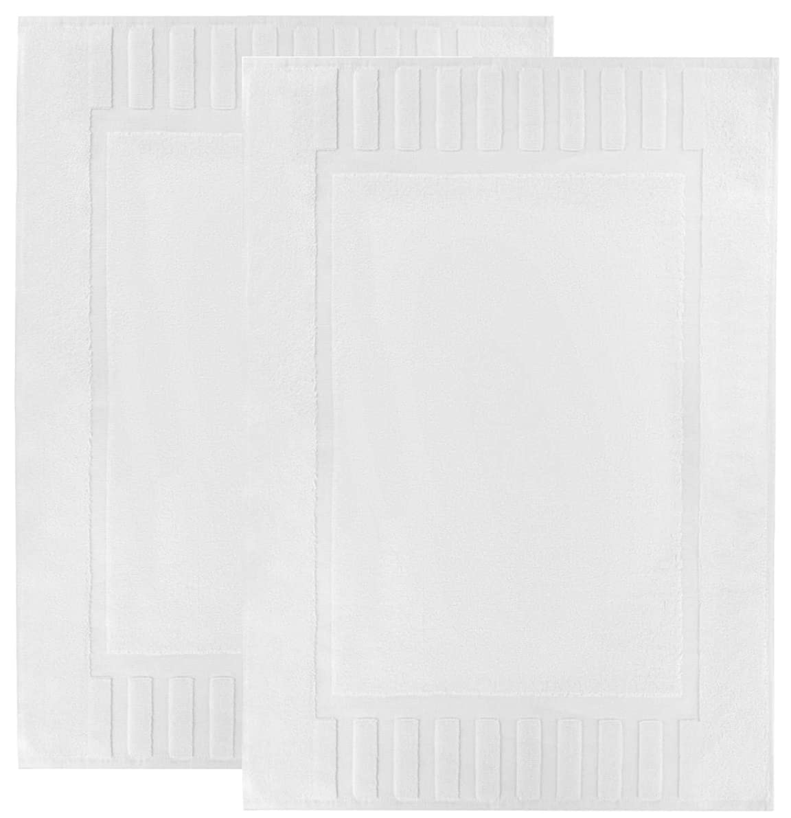 Luxury Bath Mat Floor Towel Set - Absorbent Cotton Hotel Spa Shower/Bathtub Mats [Not a Bathroom Rug] 22