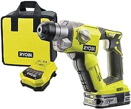 Ryobi 5133003818 Taladro de impacto rotativo 18V SDS+, Verde