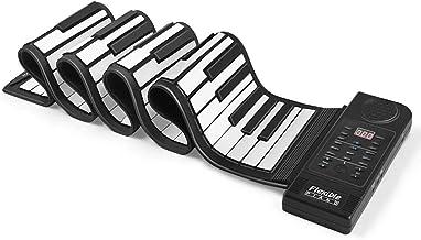 Flexzion Portable Roll Up Piano - Digital Electronic Keyboar