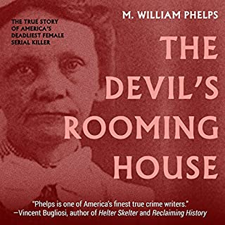 The Devil's Rooming House audiobook cover art