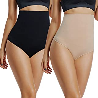 Taigood Intimo Guaina Contenitiva a Vita Alta Dimagrante Pancera Mutanda Contenitiva Fascia Elastica Shapewear da Donna