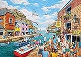 JINZUO 1000 Pièces Puzzle Enfant Adultes Bois 3D 8 Ans Fille Garcon Paysage Classique Jouets Art Déco Cadeau Femme Homme Havre D'Été