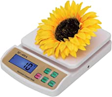 Thermocare Digital Kitchen Compact Design Weighing Machine Scale Under 10 kg SF-400A (White)