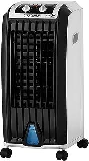 Deuba Climatizador móvil 4en1 ventilador humidificador ionizador purificador de aire acondicionar aire acondicionado 75W tanque 5L