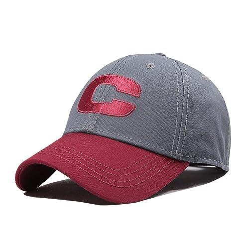 7a238bb965e CACUSS Men s 100% Cotton Classic Baseball Cap Dad Hat Adjustable Comfy Polo  Golf Cap Trucker