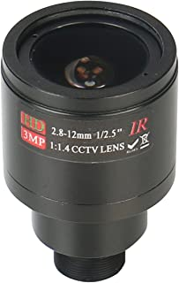 HonYan 2.8-12mm CCTV Lens M12 Mount 3.0MP 1/2.5