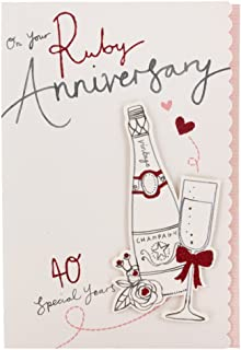 Hallmark Anniversary Card 'Wishing You A Special Day' - Medium