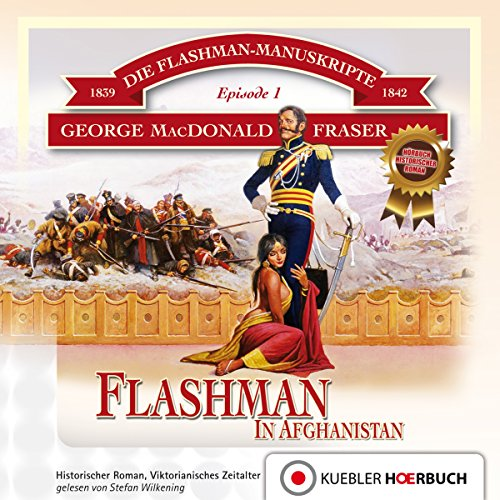 Flashman in Afghanistan. 1839-1842 cover art