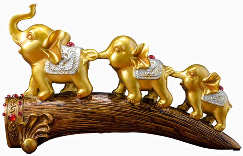 descuento de ventas en línea Jingtaohailang Tres líneas de Adornos de Elefantes Elefante Elefante Elefante Sala de EEstrella gabinete de Vino TV gabinete decoración Tres pequeños Elefantes decoración Creativa decoración del Porche del hogar  los últimos modelos