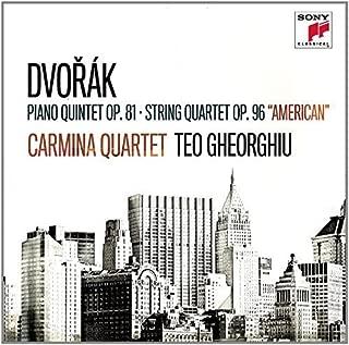 Dvork: Piano Quintet Op. 81