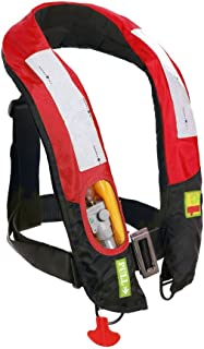 Premium Quality Automatic/Manual Inflatable Life Jacket Lifejacket PFD Life Vest Highly Visible Inflate Survival Aid Lifesaving PFD New