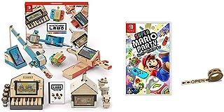 Nintendo Labo (ニンテンドー ラボ) Toy-Con 01: Variety Kit - Switch + スーパー マリオパーティ - Switch (【Amazon.co.jp限定】オリジナルマスキングテープ 同梱) セット
