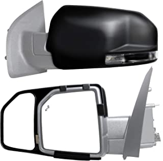 K Source Black Standard 81850 Towing Mirror Ford F150