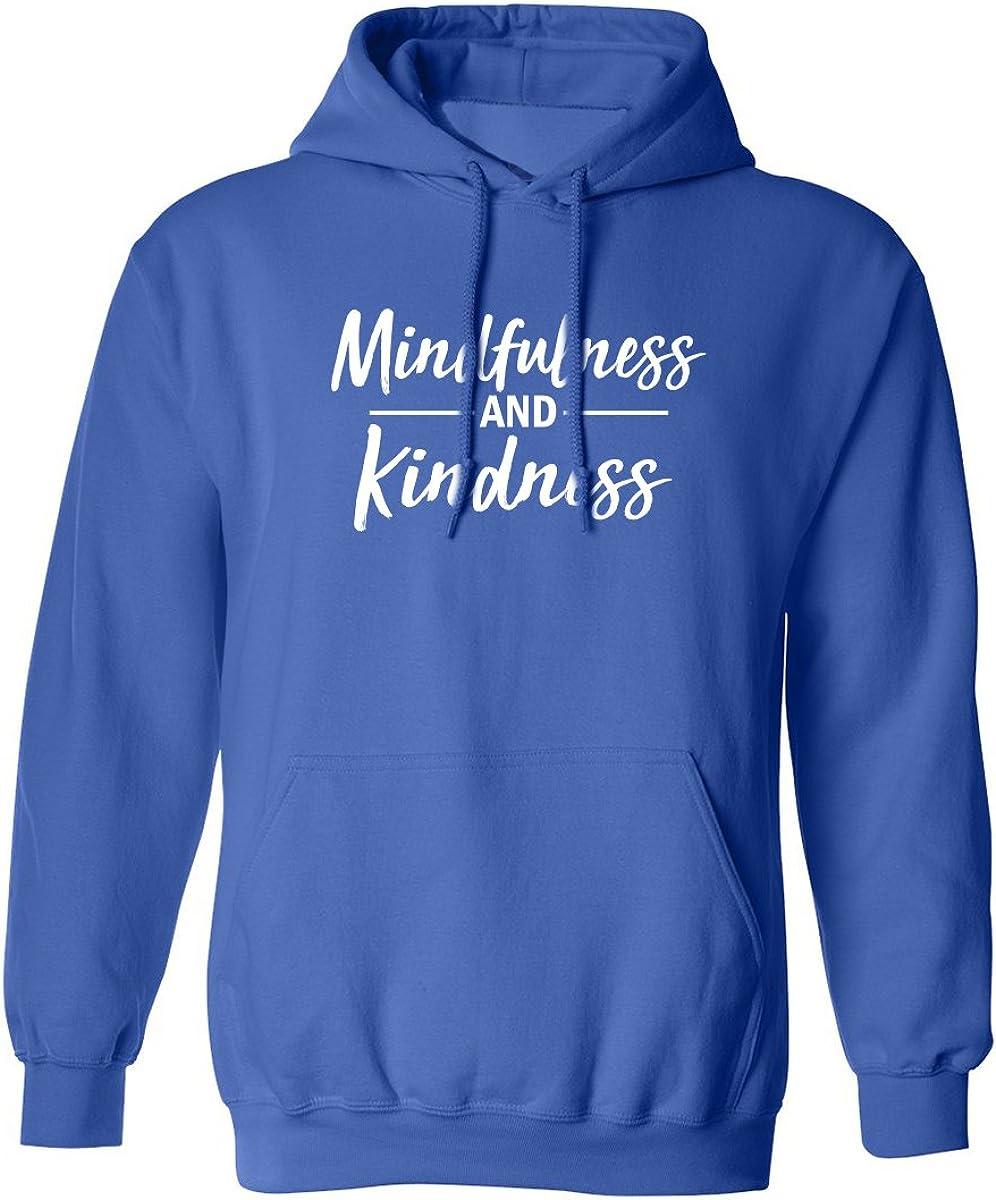 zerogravitee Mindfulness and Kindness Adult Hooded Sweatshirt