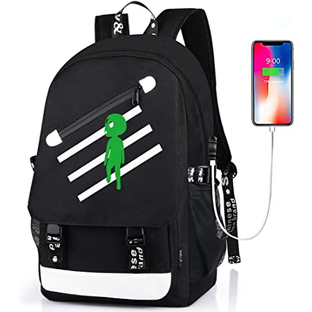 Anime Backpack for Boys School Bags Bookbags for Teenagers