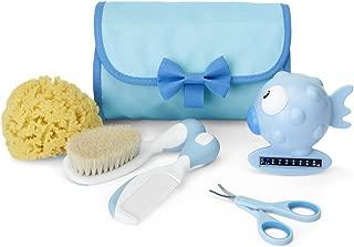 Chicco Mini Beauty - Set de higiene del bebé 5 en 1, color azul