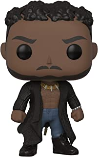 Funko Pop Marvel: Black Panther-Erik Kill Monger with Scar Collectible Figure, Multicolor