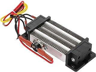 Calentador de aire de cerámica-300W 220V Termostato Tipo aislado PTC Elemento de calentamiento de aire de cerámica Deshumidificación del calentador eléctrico