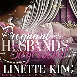 Pregnant by Her Husband's Boyfriend audiobook cover art