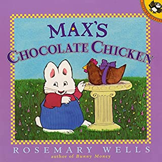 Max's Chocolate Chicken audiobook cover art