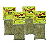 Yeowww! Catnip 1 Ounce 4 Pack | Pure Leaf and Flowertop | for Cats and Kittens