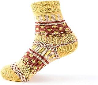 Calcetines de Invierno para Mujer, de Lana Suave, cálidos, de algodón