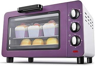 QYJH - Horno doméstico - Horno Tostador pequeño - 15L - 1200W - Horno de Tres Capas - Calefacción de Cuatro Tubos - Pizza de 9