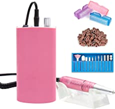 M/áquina pulidora de u/ñas el/éctrica Pulidoras de u/ñas Tipo de Pluma M/áquina de pulir el/éctrica 100`240v Voltaje Universal Global Rosa