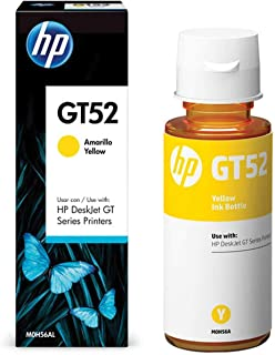 Garrafa HP GT52 Amarela original (M0H56AL)