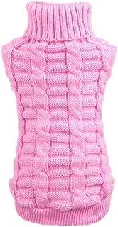 Farjing Puppy Clothing, Pet Dog Clothes Winter Woolen Sweater Knitwear