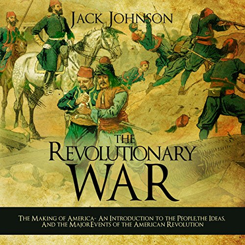 The Revolutionary War audiobook cover art