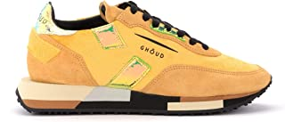 Ghoud Woman's Sneaker Rush in Camoscio E Velluto Senape