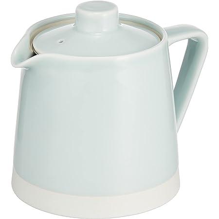 波佐見焼 「 essence(エッセンス) 」 es ポット 青磁釉 (スーパーステンレス茶こし付) 約500ml 19583