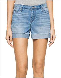 Calvin Klein Jeans Women's Cuffed Denim Shorts